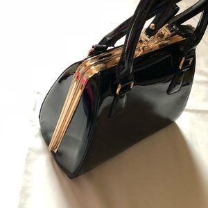 Handbags - Women's Patent Shoulder Bag
